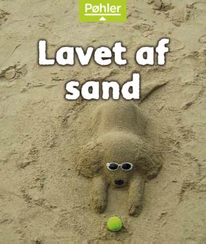 Solstrålebøger Lavet af sand forside