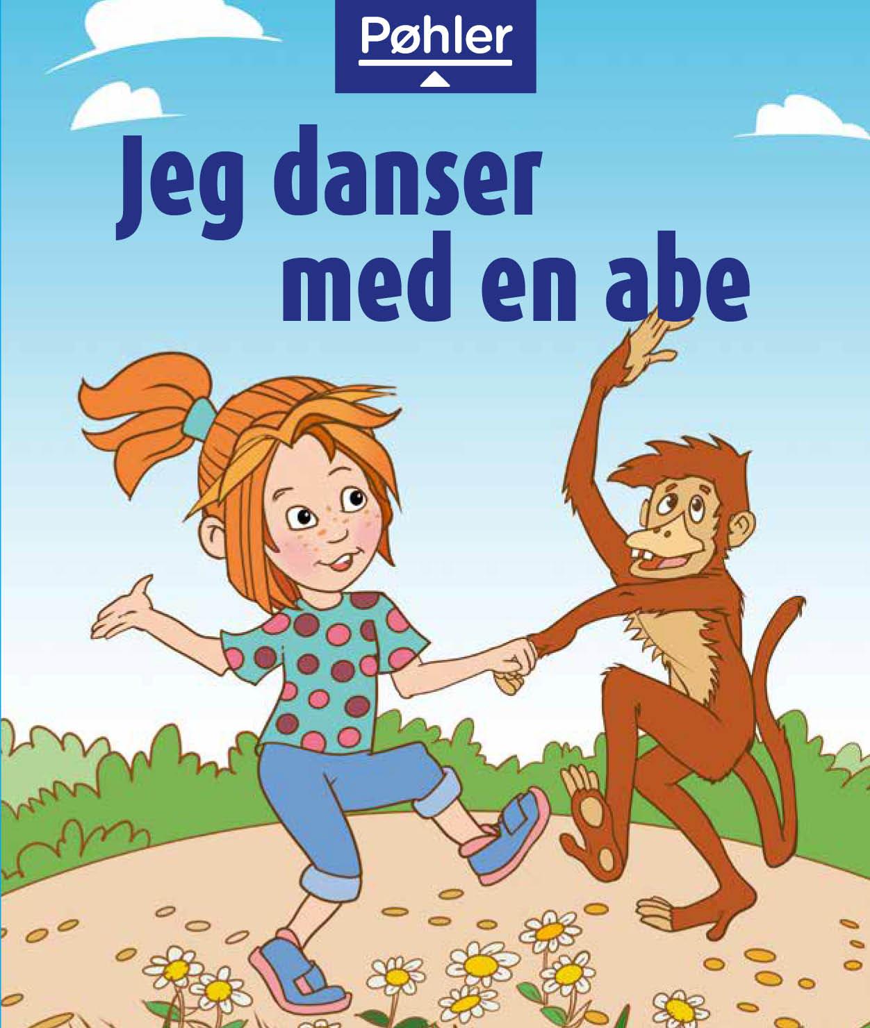 Jeg danser med en abe - forside