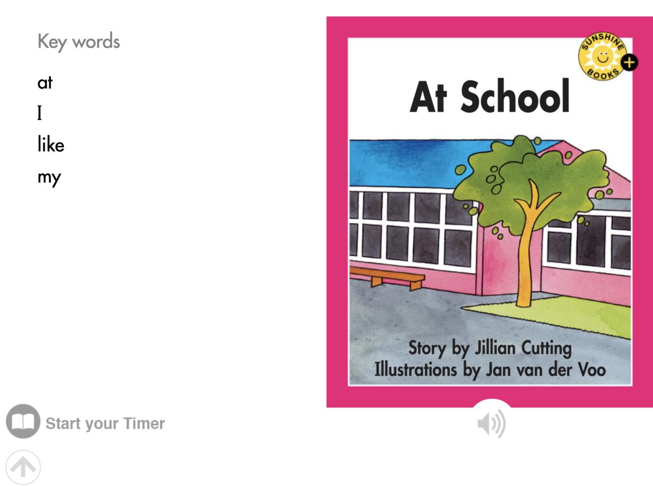 Key Words_At School_Level 1