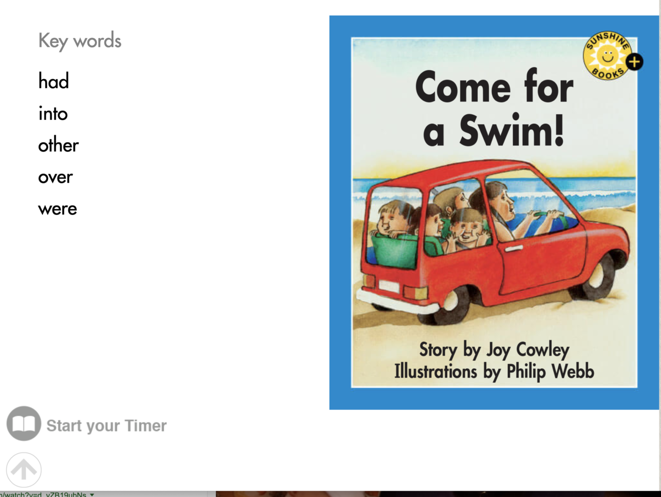 Key Words_Come for a Swim_Level 10