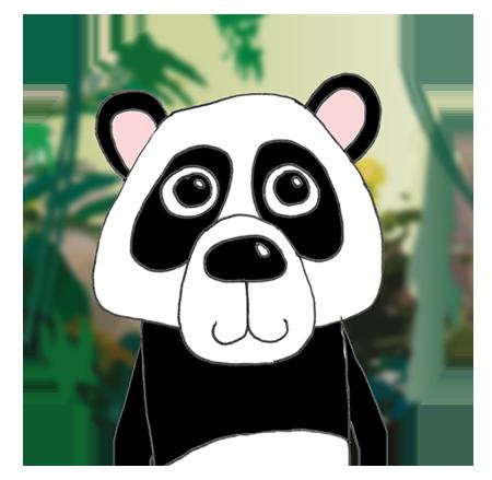 panda_lytteskriver_ikon