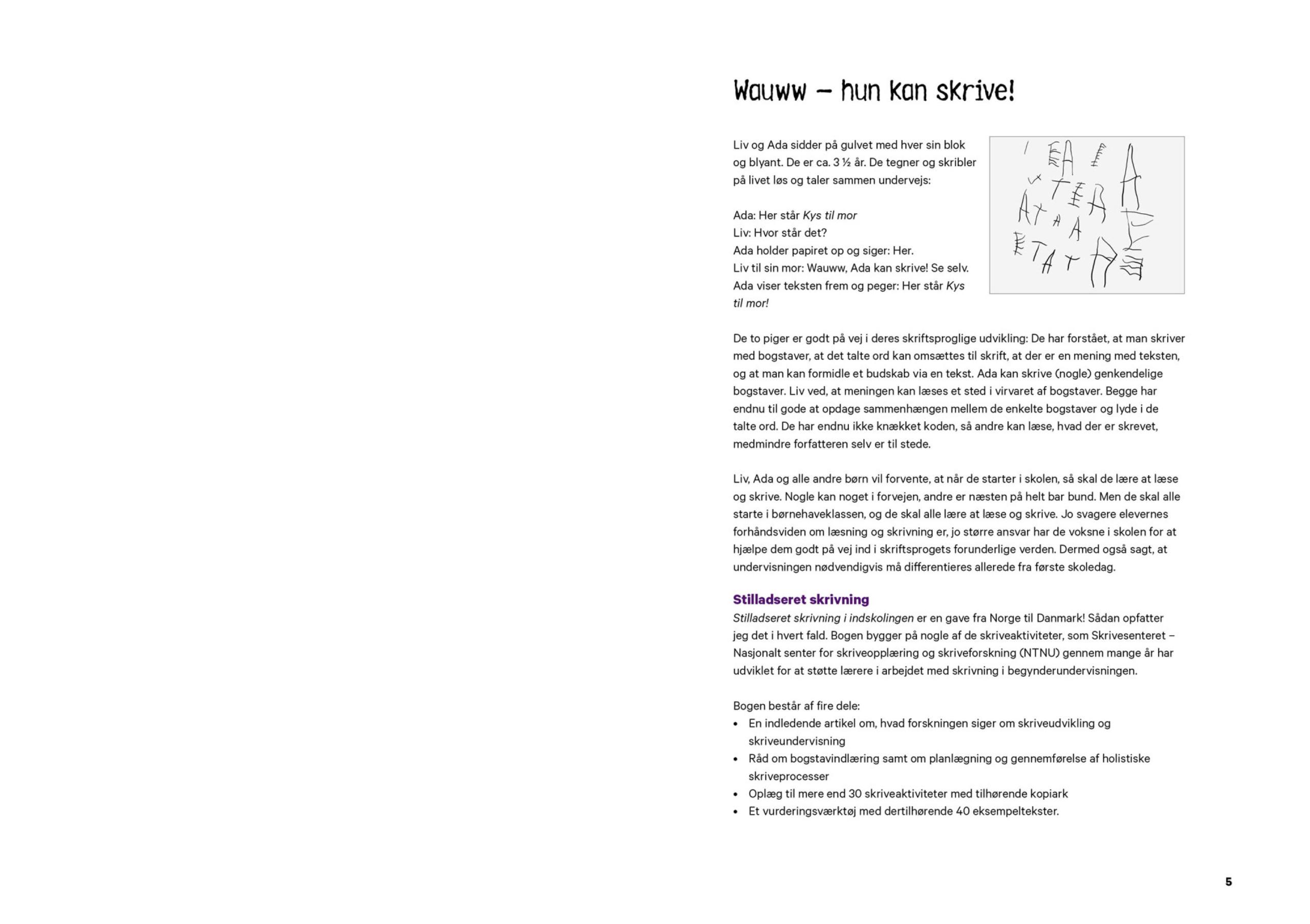Stilladseret skrivning - forord 1