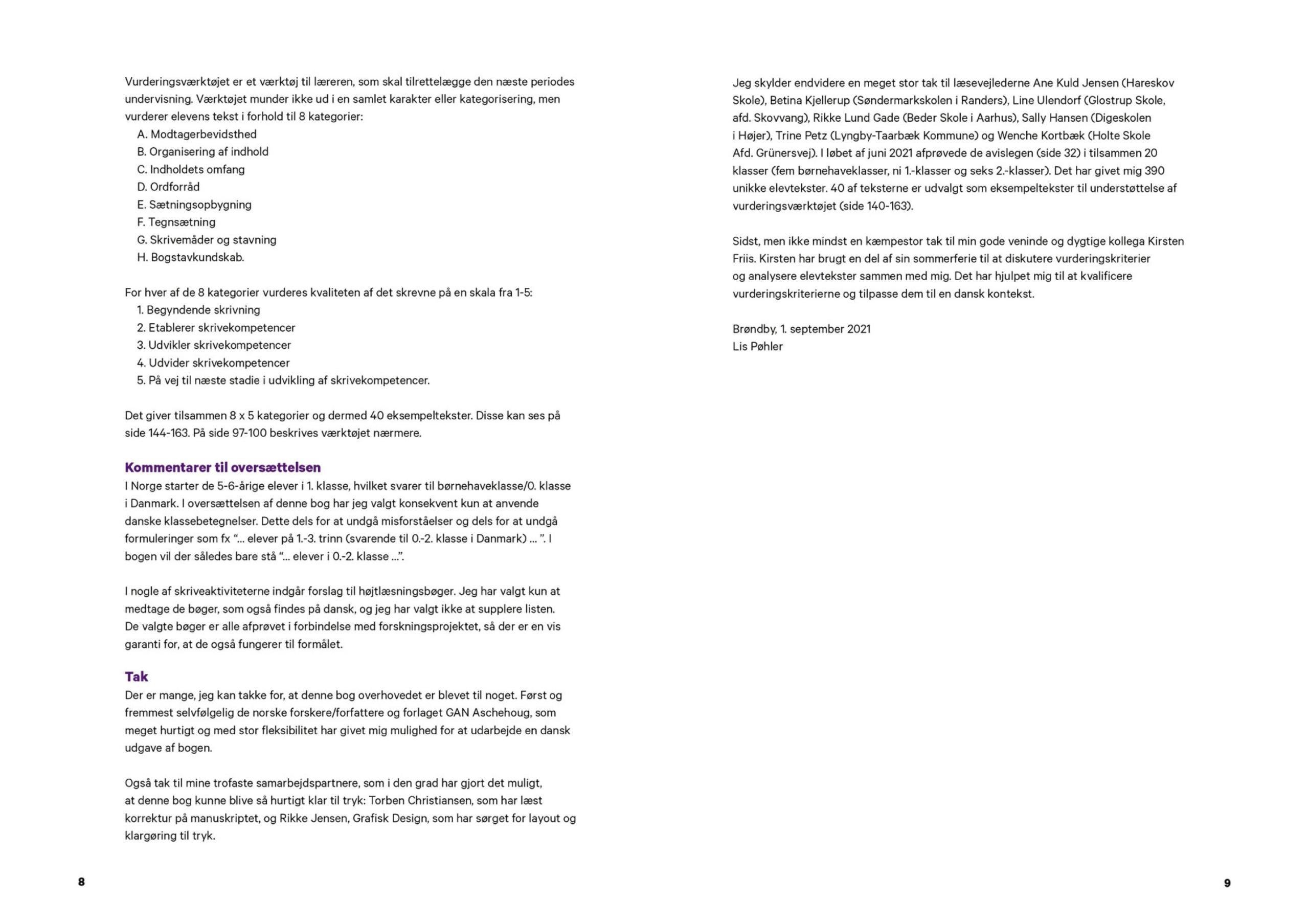 Stilladseret skrivning - forord 3